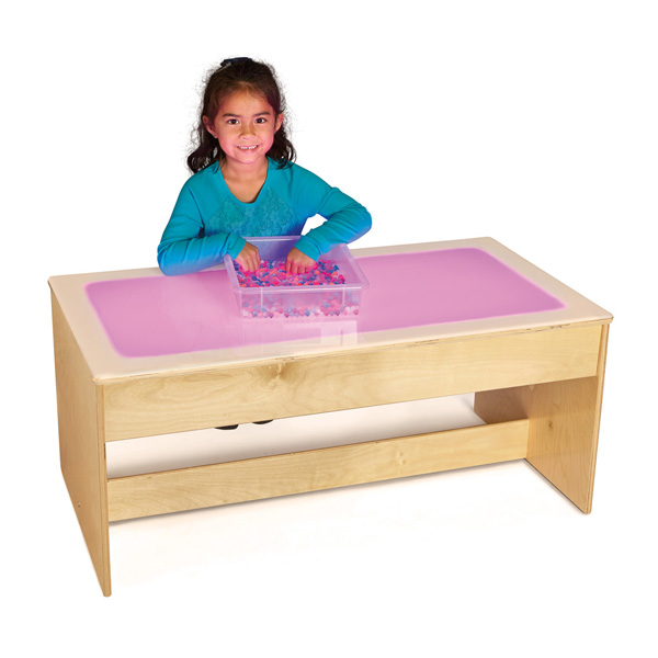 jonti craft large light table multicolored 5852jc