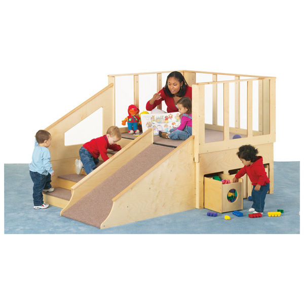 JONTI CRAFT  TINY TOTS LOFT - 12-24 MONTHS  w/BINS