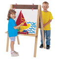 Jonti-Craft� Double Adjustable Easel