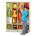 Rainbow Accents� 4 Section Coat Locker