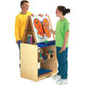 Jonti-Craft� School Age 2 Station Art Center