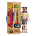 Jonti-Craft� Revolving 5 Section Coat Locker