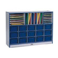 Sectional Cubbie-Tray Mobile Unit