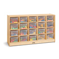 20 Cubbie-Tray Mobile Storage