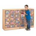 MapleWave� 30 Cubbie-Tray Mobile Storage with Clear Trays