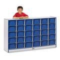 30 Cubbie-Tray Mobile Storage