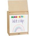 Jonti-Craft� Big Book Easel - Magnetic Write-n-Wipe