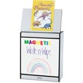 Rainbow Accents� Big Book Easel - Magnetic Write-n-Wipe