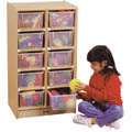 10 TRAY MOBILE STORAGE
