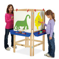 Jonti-Craft� 4 Way Adjustable Easel