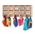 MapleWave� 10 Section Wall Mount Coat Locker