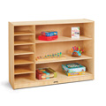 Jonti-Craft� Adjustable Combo Mobile Straight-Shelf - without Paper-Trays