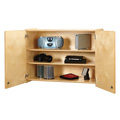 Jonti-Craft� Lockable Wall Cabinet