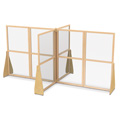See-Thru Quad Crib and Space Divider