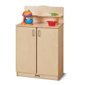 Jonti-Craft� Culinary Creations School Age Kitchen Cupboard
