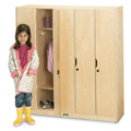 Jonti-Craft� Five Section Lockers With Doors