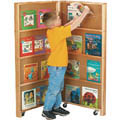 Jonti-Craft� Mobile Library Bookcase