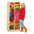 Jonti-Craft� 2 Section Coat Locker