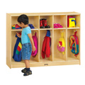 Toddler 5 Section Coat Locker