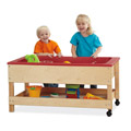 Jonti-Craft� Toddler Sensory Table with Shelf