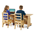 Jonti-Craft� Apollo Double Computer Desks