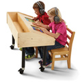 Jonti-Craft� Dual Tablet Table - Mobile