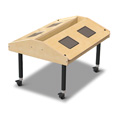 Jonti-Craft� Quad Tablet Table - Mobile