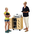 Jonti-Craft� Laptop and Tablet Storage Cart