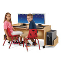 MapleWave� Enterprise Double Computer Desk