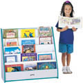 PICK-a-BOOK STAND FLUSH BACK - 1 SIDED