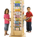 Revolving Large Literacy Tower