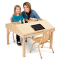 Jonti-Craft� Quad Tablet And Reading Table