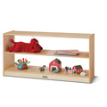 Jonti-Craft� Toddler Fixed Straight-Shelf with See-Thru Back