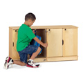 Jonti-Craft� Stacking Lockable Lockers - Single Stack