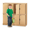 MapleWave� Stacking Lockable Lockers - Double Stack