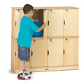Jonti-Craft� Stacking Lockable Lockers - Double Stack
