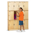 Jonti-Craft� Stacking Lockable Lockers - Triple Stack