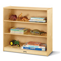 Jonti-Craft� Standard Fixed Straight-Shelf Bookcase