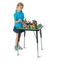 Jonti-Craft� Adjustable Building Table � Traditional Brick Compatible � 24-31