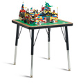 Jonti-Craft� Adjustable Building Table � Traditional Brick Compatible � 15-24