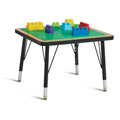 Jonti-Craft� Adjustable Building Table � Preschool Brick Compatible � 15-24
