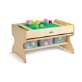 Jonti-Craft� Deluxe Building Table  - Preschool Brick Compatible