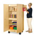Jonti-Craft� Hideaway Storage Cabinet � Mobile