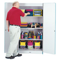 Rainbow Accents� Classroom Closet - Deluxe
