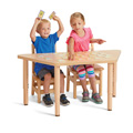 Jonti-Craft� Purpose+ Trapezoid Tables