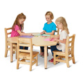 Jonti-Craft� Purpose+ 4 Leaf Table