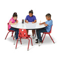 Round Dry Erase Tables