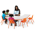 Berries® Horseshoe Activity Tables
