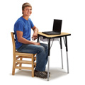 Berries® Tall Trapezoid Desk