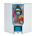 Toddler Corner Coat Locker with Step